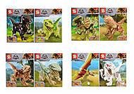 """Конструктор """"Динозавр"""" от 8 деталей, в ассортименте, 1238, фото"""