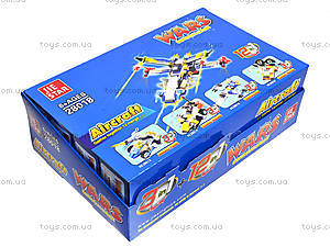 Конструктор детский Wars, 12 штук, 28018, детские игрушки