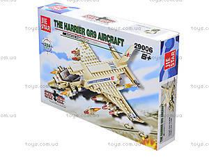 Детский конструктор «Самолет SWAT», 224 детали, 29006, купить