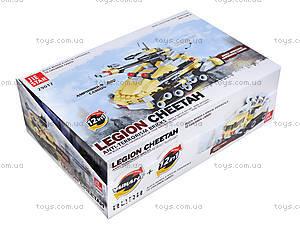 Детский конструктор Legion Cheetah, 29017, игрушки