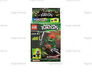 Конструктор минифигурка Ninja Turtles, 6 видов, 3D4801-4806