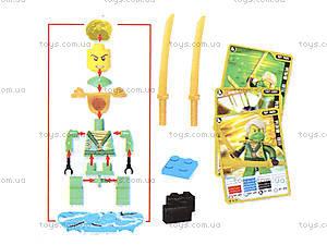Конструктор «Новые герои-ниндзя», 3D7901, купить