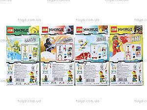 Конструктор «Новые герои-ниндзя», 3D7901, игрушки