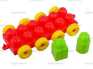 Конструктор для детей в корзинке, 02-306, купить