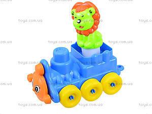 Конструктор для детей в корзинке, 02-306, фото