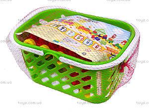 Конструктор для детей в корзинке (в ассортименте), 02-306, отзывы