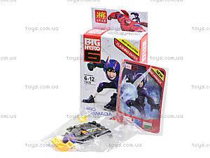 Конструктор детский Big Hero, 6 видов, 79029, купить