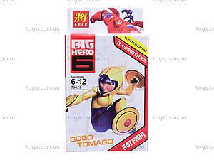 Конструктор детский Big Hero, 6 видов, 79029, фото