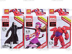 Конструктор детский Big Hero, 6 видов, 79029, цена
