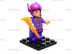 Детский конструктор Big Hero, 6 видов, 14941, купить
