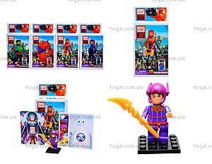 Детский конструктор Big Hero, 6 видов, 14941
