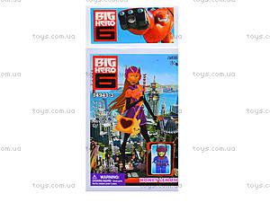 Детский конструктор Big Hero, 6 видов, 14941, игрушки