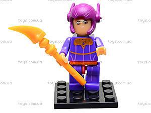Детский конструктор Big Hero, 6 видов, 14941, детские игрушки