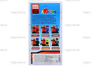 Детский конструктор Big Hero, 6 видов, 14941, магазин игрушек