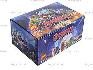 Набор конструктора «Мстители», 12 штук, 79028, игрушки