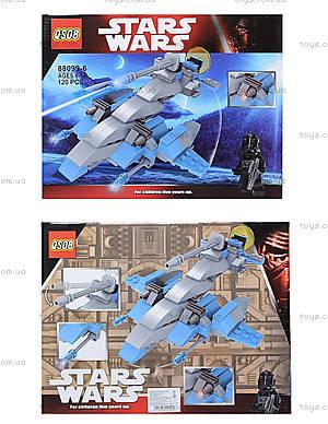 Детский конструктор Star Wars «Космолет», с фигуркой, 88099-17
