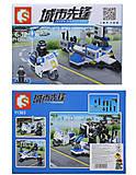 Конструктор «Полиция», 89 деталей, 11301, фото