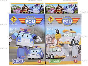 Детский конструктор-герой «Робокар Поли», 8917, купить