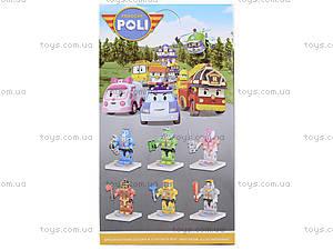 Детский конструктор-герой «Робокар Поли», 8917, фото