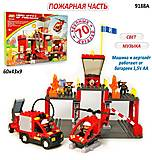 Конструктор JIXIN «Пожарная охрана» 70 деталей, 9188A, отзывы