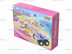 Конструктор «Золотой пляж», 96 деталей, XP96011, фото
