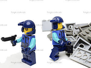 Конструктор Advanced Troop «Военная база», 2117, детский