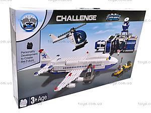 Конструктор «Аэропорт», 800 деталей, 14631, детские игрушки