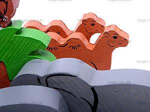Деревянный конструктор «Африка», 7678-4, toys.com.ua