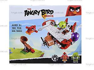 Детский конструктор Angry Birds, 167 деталей, 19002