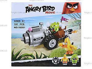 Конструктор Angry Birds, 74 детали, 19001