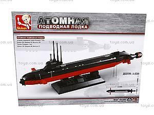 Конструктор «Атомная подводная лодка», M38-B0391R