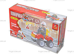 Конструктор «Пожарный джип», 46 деталей, 21203, купить