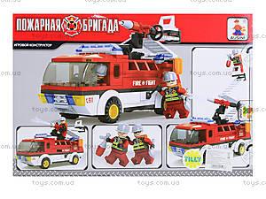 Конструктор «Пожарная бригада», 192 детали, 21503, купить