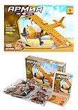 Конструктор для детей «Самолет», 105 деталей, 22405