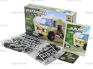 Конструктор для детей «Армейский автомобиль», 113 деталей, 22410, фото