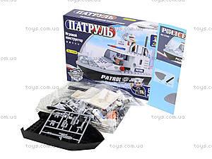 Конструктор «Полицейский катер», 83 деталей, 23309, фото