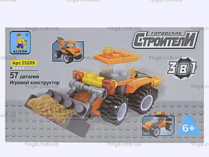 Детский конструктор «Строители», 25209, фото