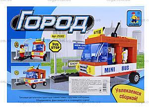 Детский конструктор «Автобус», 93 детали, 25302, купить