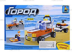 Детский конструктор «Джип с прицепом», 124 деталей, 25402, купить