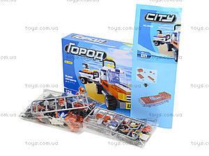 Детский конструктор «Джип с прицепом», 124 деталей, 25402, фото