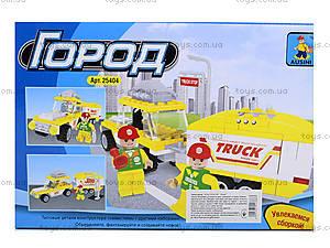 Детский конструктор «Машина с прицепом», 137 деталей, 25404, купить