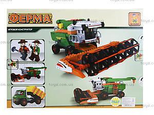 Детский конструктор «Ферма», 565 деталей, 28703, фото