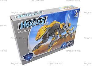 Конструктор Ausini «Heroes», 190 деталей, 25473