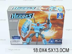Конструктор Ausini «Heroes», 86 деталей, 25367