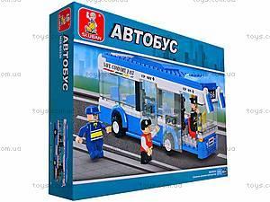 Конструктор «Автобус», 235 деталей, M38-B0330