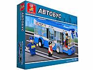 Конструктор «Автобус», 235 деталей, M38-B0330, купить