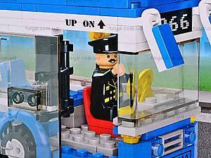 Конструктор «Автобус», 235 деталей, M38-B0330, фото