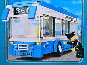 Конструктор «Автобус», 235 деталей, M38-B0330, отзывы