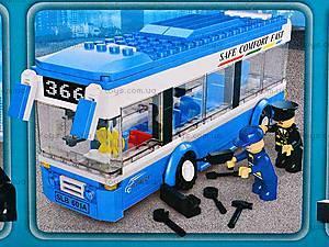 Конструктор «Автобус», 235 деталей, M38-B0330, игрушки