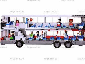 Конструктор «Автобус», 741 элемент, M38-B0335R, фото